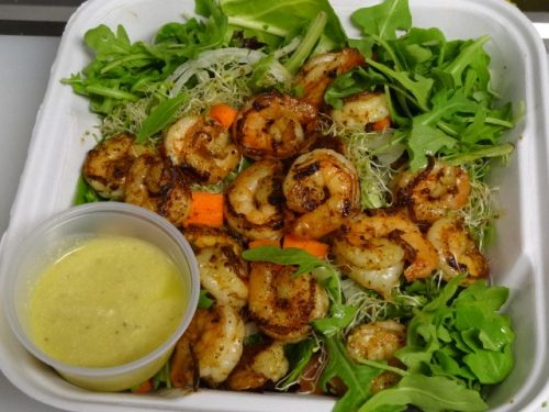 Crave shrimp lettuce